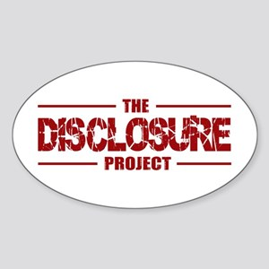 Disclosure Oval Sticker