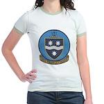 USS BRINKLEY BASS Jr. Ringer T-Shirt
