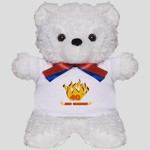 40 Years Old And Smokin' Teddy Bear