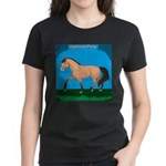 Dun Highland Pony Women's Dark T-Shirt