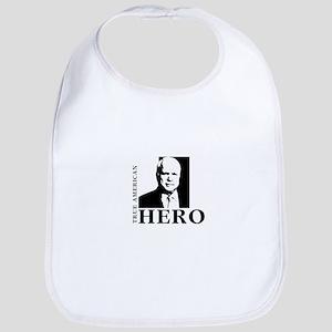 John McCain True American Hero Bib