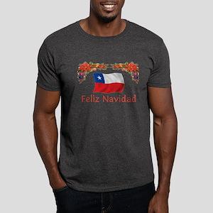 Chile Feliz Navidad 2 Dark T-Shirt