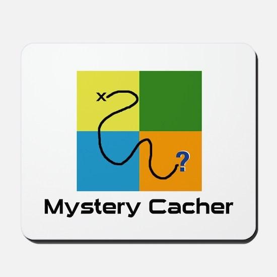 Mystery Cacher Mousepad