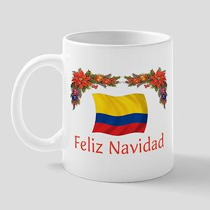Colombia Feliz Navidad 2 Mug