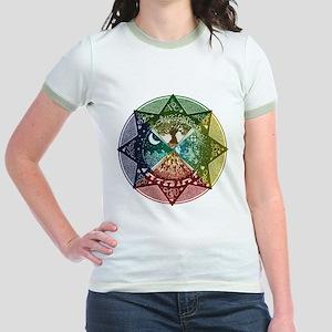 Elemental Mandala Jr. Ringer T-Shirt