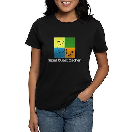 Spirit Quest Cacher Women's Dark T-Shirt