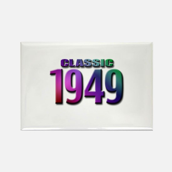 Classic 1949 Rectangle Magnet (10 pack)