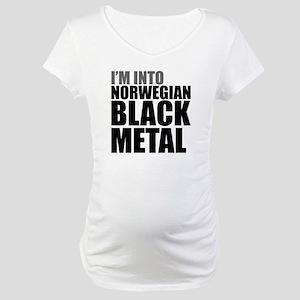 Norwegian Black Metal Maternity T-Shirt