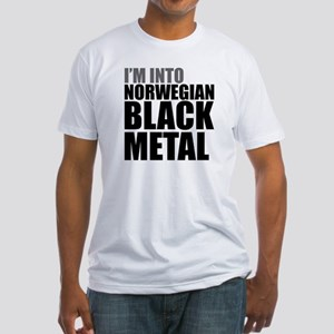 Norwegian Black Metal Fitted T-Shirt