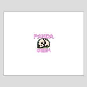 Panda Geek Small Poster