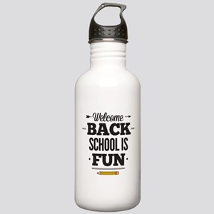 Back To School Stainless Water Bottle 1.0L