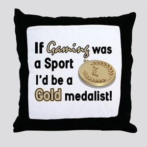 Beer humor Throw Pillow
