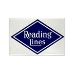 Reading Lines Rectangle Magnet (10 pack)