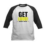 GetLoudAgainstCancer Kids Baseball Jersey