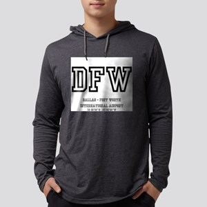 AIRPORT CODES DFW, DALLAS FO Long Sleeve T-Shirt