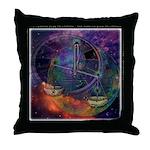 Libra Zodiac Throw Pillow