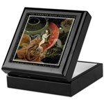 Virgo Zodiac Keepsake Box