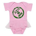 100 Percent Irish Baby Tutu Bodysuit