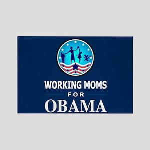 Working Moms Obama Rectangle Magnet
