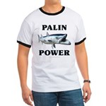 Palin Power Ringer T
