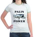 Palin Power Jr. Ringer T-Shirt
