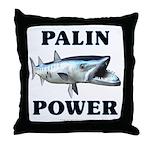 Palin Power Throw Pillow