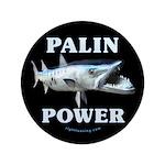 """Palin Power 3.5"""" Button"""