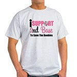 BreastCancer2ndBase Light T-Shirt