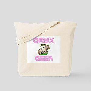 Oryx Geek Tote Bag