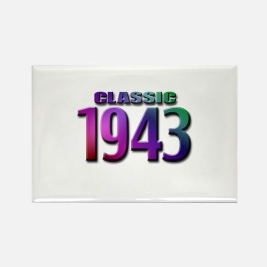 Classic 1943 Rectangle Magnet (10 pack)