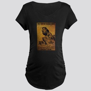 New Section Maternity Dark T-Shirt