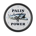 Palin Power Large Wall Clock