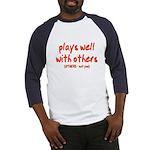 Plays Well Baseball Jersey