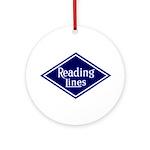 Reading Lines Keepsake (Round)