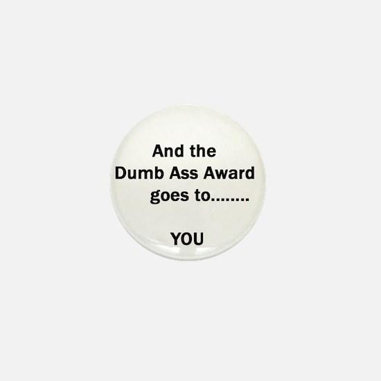 Dumb Ass Award Mini Button
