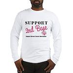 BreastCancerSecBase Long Sleeve T-Shirt