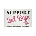BreastCancerSecBase Rectangle Magnet (10 pack)