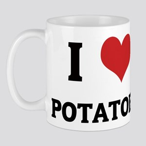 I Love Potatoes Mug
