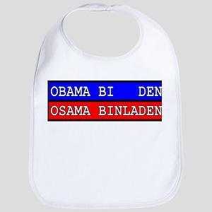 Obama-Biden : Osama Bin Laden Bib