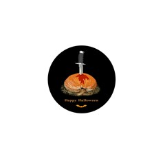 Kill the Pumpkin Halloween Mini Button (10 pack)