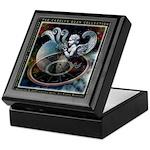 Aquarius Zodiac Keepsake Box