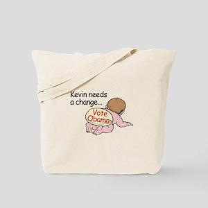 Kevin Needs Change - Vote Oba Tote Bag