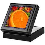 Orange Fruit Keepsake Box