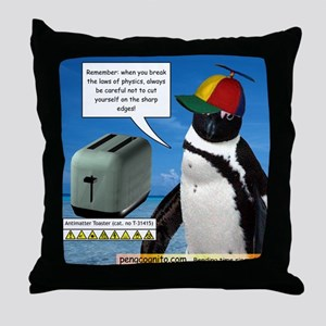 Laws of Physics Throw Pillow