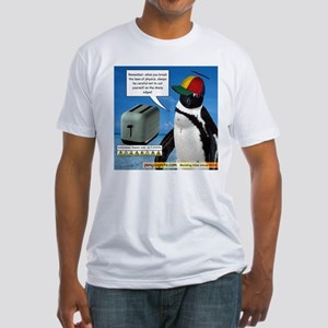 Laws of Physics Fitted T-Shirt