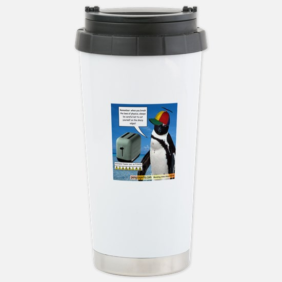 Laws of Physics Stainless Steel Travel Mug
