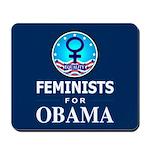 Feminists for Obama Mousepad