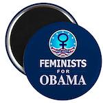 Feminists for Obama Magnet