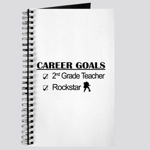 2nd Grade Teacher Career Goals Rockstar Journal