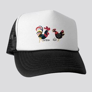 ROOSTER RULES HEN RULES Trucker Hat